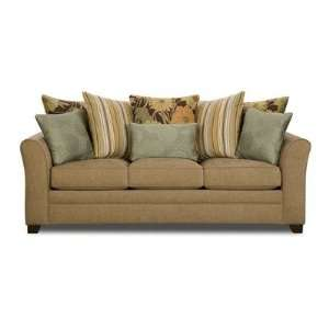 Stationary Sofa Fabric: Avignon Driftwood: Furniture & Decor