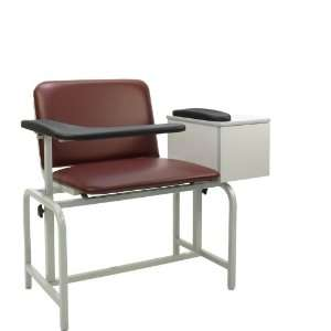 Winco Xl Blood Drawing Chair Padded Vinyl With Drawer