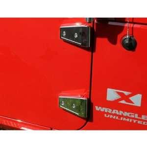 Rugged Ridge 11113.06 Stainless Door Hinge Cover Kit   8