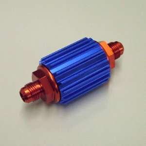 Professional Products 10216 Inline Fuel Filter Red/Blu