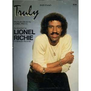 by Lionel Richie on Motown Records   Easy Piano: Lionel Richie: Books