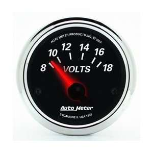 Auto Meter Voltmeter Gauge   1293 Automotive