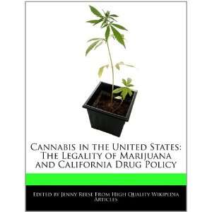 and California Drug Policy (9781241587130) Jenny Reese Books
