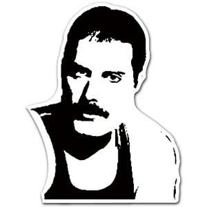 Queen Freddie Mercury Singer Music Car Bumper Sticker