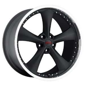 18x10 Bravado Americana II (Matte Black w/ Machined Lip) Wheels/Rims