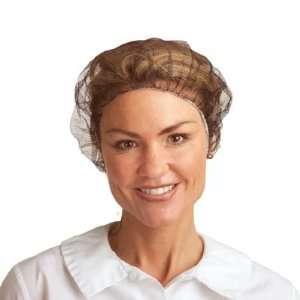 19 inch, BROWN Nylon Hair Net (QTY/1,000) Sports
