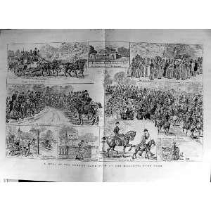 1888 Horses Four In Hand Club Magazine Hyde Park London