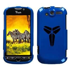 HTC MYTOUCH 4G BLACK MAMBA KOBE LOGO ON A BLUE HARD CASE