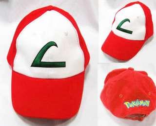 Pokemon Ash Ketchum Hat Cap *UK SELLER* cosplay costume