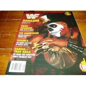 Federation Magazine September 1992 Issue: World Wrestling Federation