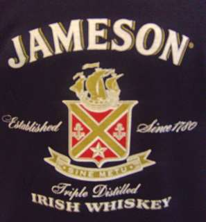 Jameson Irish Whiskey T Shirt Ireland Sz S,M,L,XL,XXL