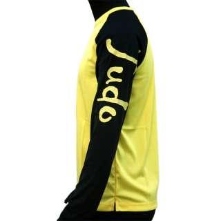 Adidas Judo Lycra Rashguard Yellow Shirt