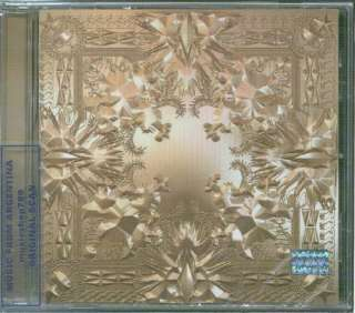 KANYE WEST & JAY Z, WATCH THE THRONE. FACTORY SEALED CD. In English.