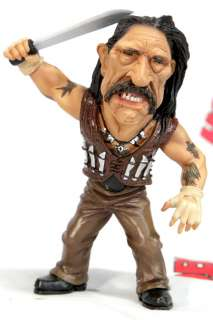 MACHETE DANNY TREJO FUNNY PAINTED DEFORMED SD RESIN MODEL FIGURE