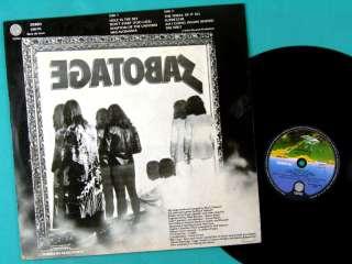 LP BLACK SABBATH SABOTAGE HARD ROCK METAL PSYCH BRAZIL