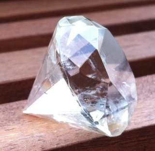 CLEAR QUARTZ CRYSTAL DIAMOND   POINT ENERGY GENERATOR   REIKI