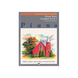 com Alfred Publishing 00 6158 Alfreds Basic Piano Course Hymn Book
