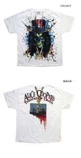 Alice Cooper   Skull Splatter T Shirt