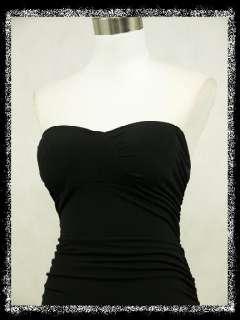 dress190 STRAPLESS BLACK GRECIAN MAXI PROM WEDDING EVENING DRESS GOWN