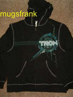 Tron Legacy Disney Movie Zip up Hoodie Jacket Shirt