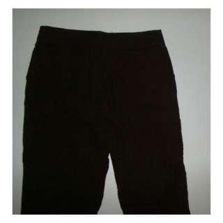 NWT Womens JONES NEW YORK SPORT Brown Corduroy Pants Size 10