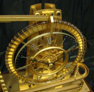 MYSTERY WATERWHEEL 8 DAY INDUSTRIAL GRAVITY BALL BEARING CLOCK w