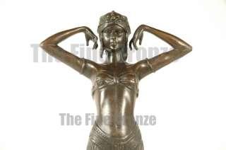 Chiparus bronze art deco dancer ILLUSION OF VIRTUE