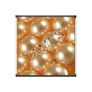 50 SWAROVSKI 5810 Crystal Faux PEARLS PEACH 8mm