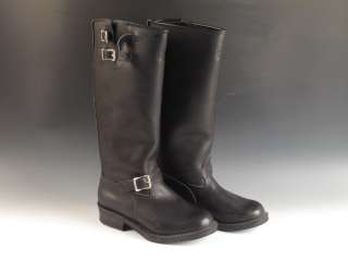 Wesco Mens Black Leather Engineer Boots Sz. 10 10.5 19 Tall
