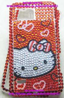 Hello kitty Bling Full Case Cover For Motorola Droid Bionic XT875 #2