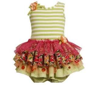 Bonnie Jean Baby Girls Multi Tier Ruffle Mesh Easter Spring Dress w