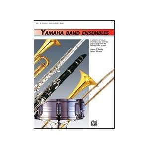 Alfred Yamaha Band Ensembles Book 1 Clarinet Bass Clarinet