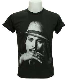 Johnny Depp T Shirt Movie Celeb Film Star Act Hollywood