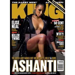 King Magazine: Ashanti (November 2007): King Magazine: Books