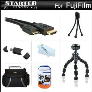 Starter Accessories Kit For The Fuji Fujifilm X S1, XS1