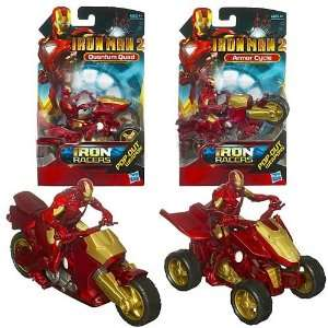 Iron Man 2 Movie Iron Racers Vehicle Quantum Quad Toys