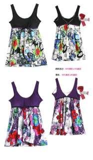 beach Swim dress bottom one piece swimsuit swimwear 13009 1 3XL fit 14