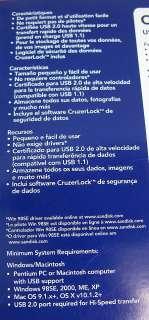SanDisk Cruzer Mini USB Flash Drive 256MB AS IS BROKEN