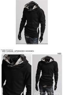 ON MOON FANCYQUBE CASUAL MENS SWEATSHIRT PULLOVER HOODIE 1392
