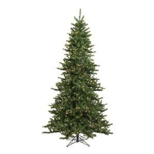 15 Pre Lit Balsam Fir Slim Artificial Christmas Tree