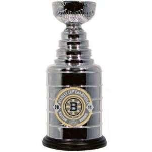 2011 Mini NHL Stanley Cup Champions Boston Bruins Pewter Hockey
