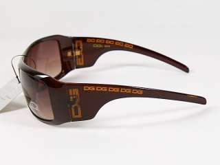 Brown with Brown Laser Logo Frame Womens Fashion Sunglasses
