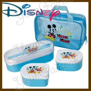 DISNEY Mickey Mouse Childrens School Lunch Box w/ Bag