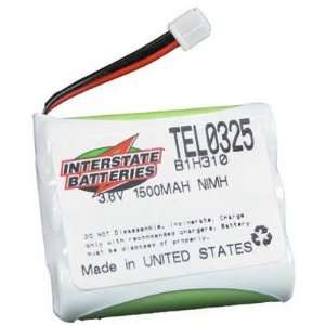 INTERSTATE ALL BATTERY TEL0325 Cordless Telephone Battery