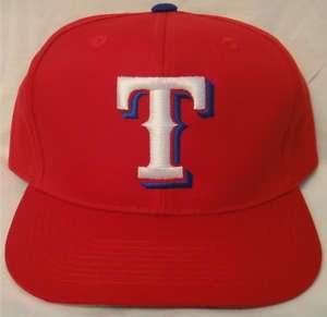 MLB TEXAS RANGERS FLATBILL SNAPBACK YOUTH HAT CAP