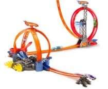 Hot Wheels Store   Mattel Hot Wheels Power Loop Stunt Zone