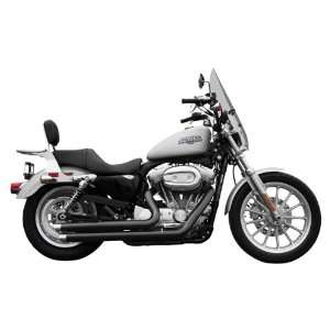 Rush Full Exhaust System with Angle Tip for 2004 2011 Harley Davidson