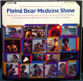 TRAVELLING ROCK FESTIVAL 1969 flying bear medicine show LP Mint  WLP
