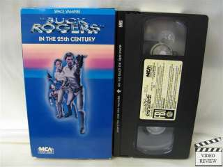 Buck Rogers In The 25th Century   Space Vampire VHS