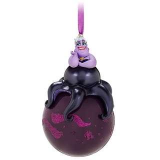 2011~URSULA~Octopus~Glass BaLL~Ornament~Ariel~Little Mermaid~NWT